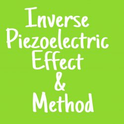 direct and inverse piezoelectric effect of ultrasound